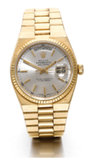 Rolex OysterQuartz 18K Yellow Gold