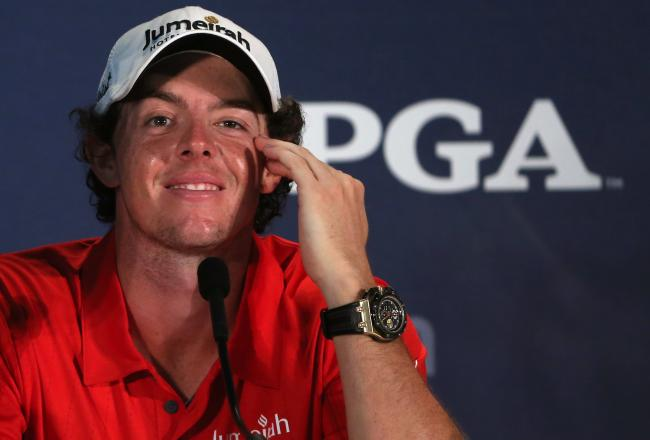 Rory McIlroy Historic Win Audemars Piguet Royal Oak Press Conference