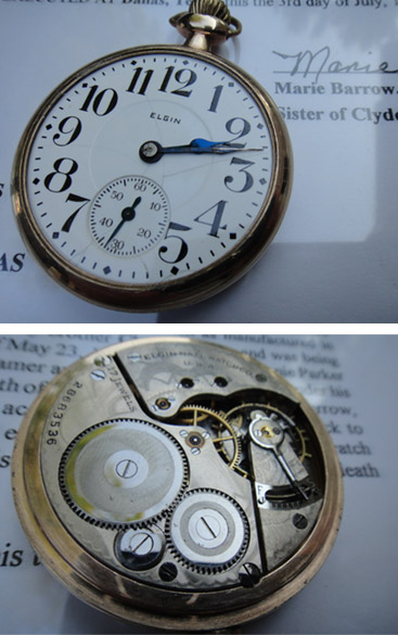 Clyde Pocket Watch (image rrauction.com)