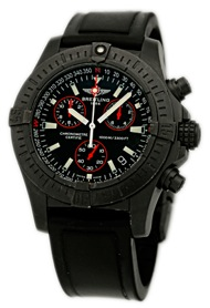 Gent's Limited Edition Black Stainless Steel Breitling