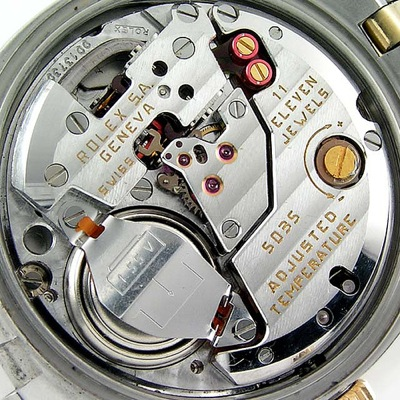 Rolex Quartz Movement