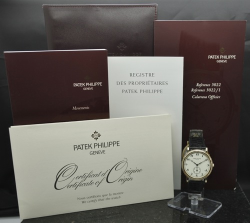 Patek Calatrava Box & Papers
