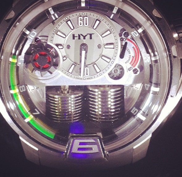 HYT watch at Baselworld