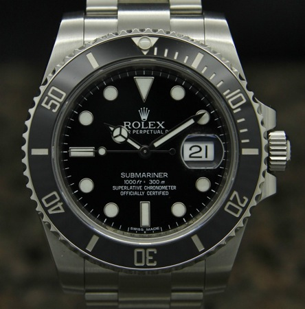 Rolex 116610 with Ceramic Bezel