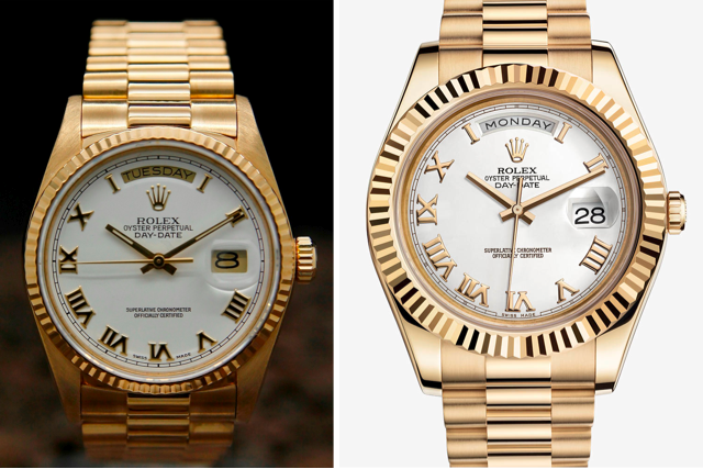 Pre-owned vs new Rolex