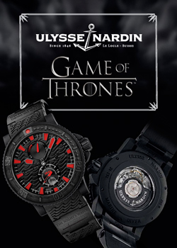 Ulysse Nardin's Game of Thrones inspired Watch