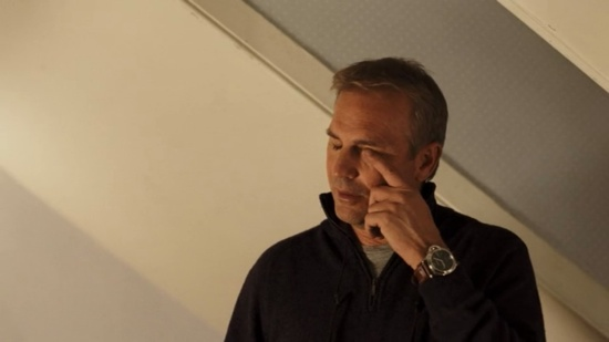 Kevin Costner wearing Panerai