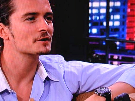 Orlando Bloom's Fliegeruhr doppel-chronograph
