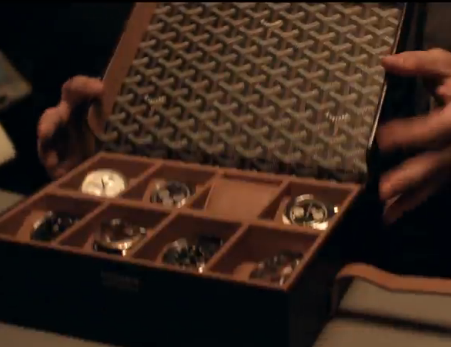 Film shot of Orlando Bloom's Rolex Collection from The Bling Ring's (Releasing June 14, 2013) Official Movie Trailer