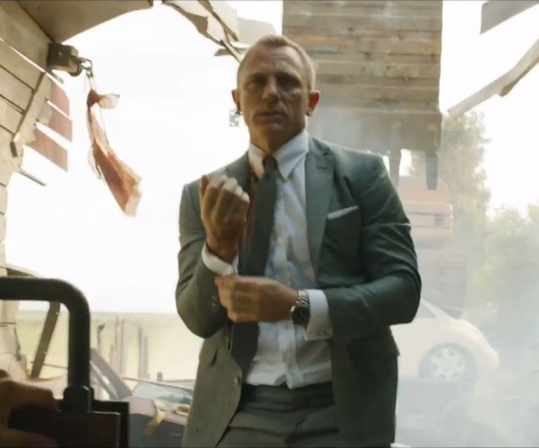 Video still of Skyfall produced by Eon Productions.