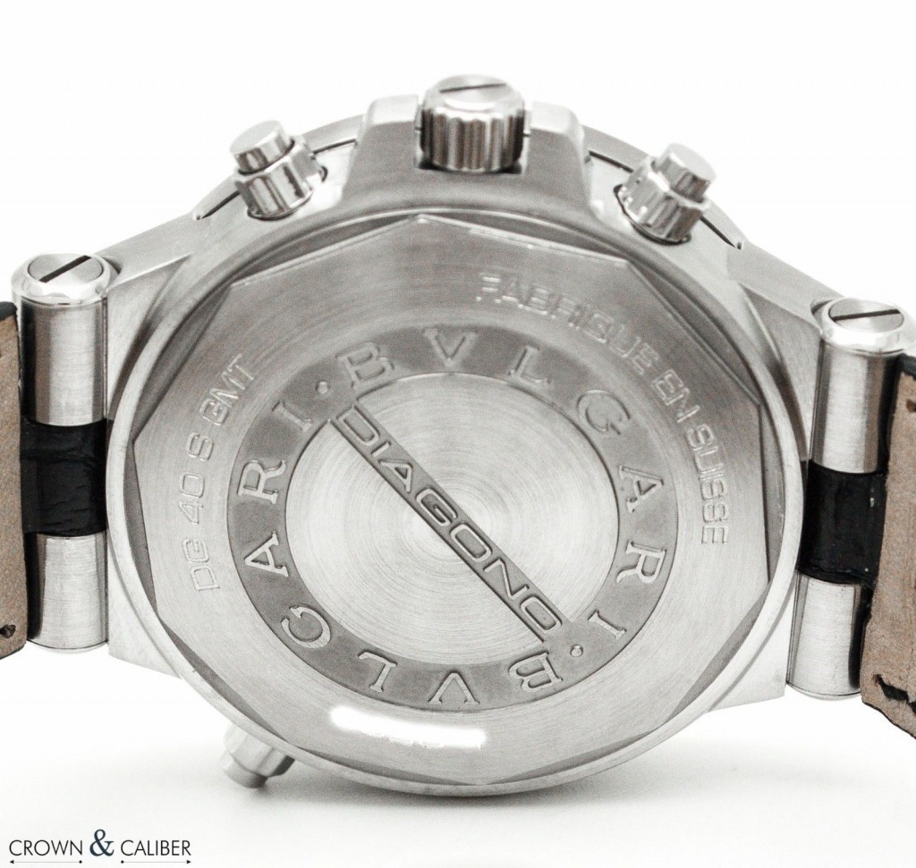 Bvlgari Watch Caseback